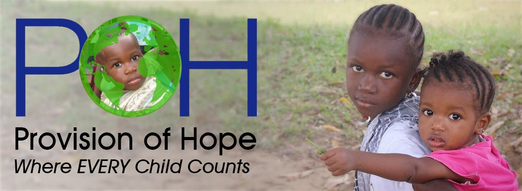 Link Share to Provision of Hope where every child counts