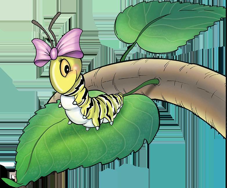 The Story of Henrietta Caterpillar