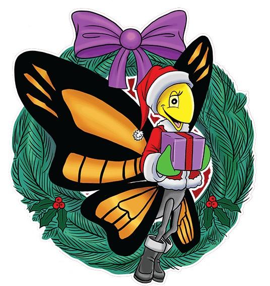 Christmas comes to Henrietta's Garden
